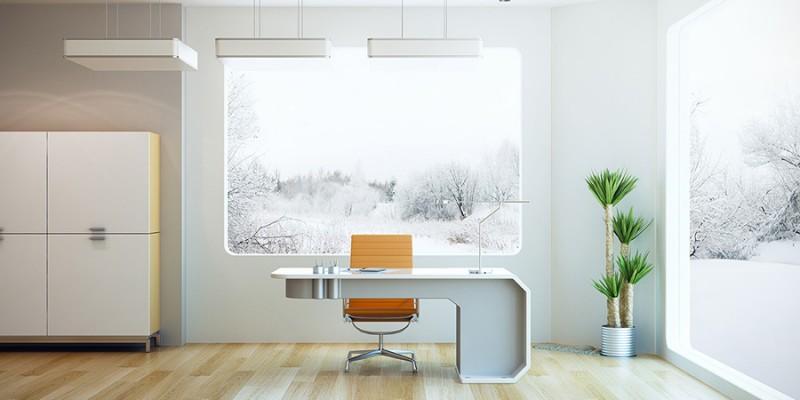 interior design of modern office